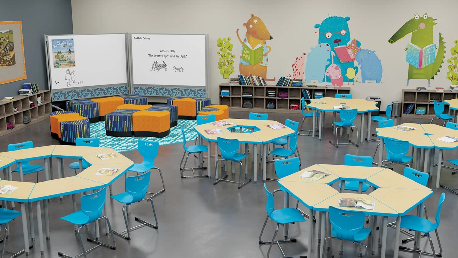 Collaborative Reading Lab - Blue
