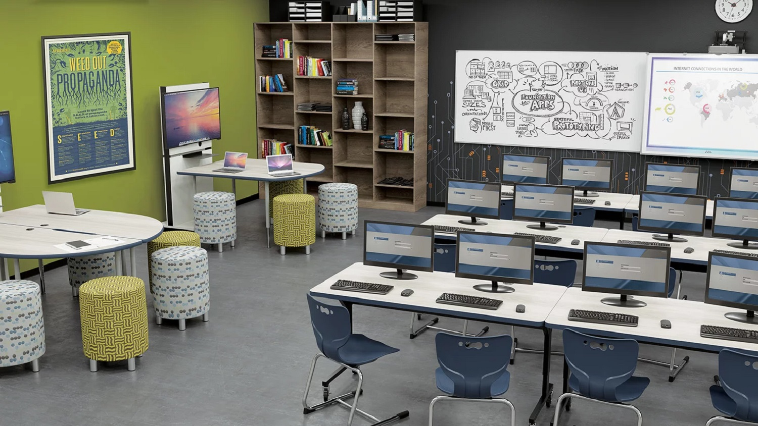 Flexible Media Computer Lab