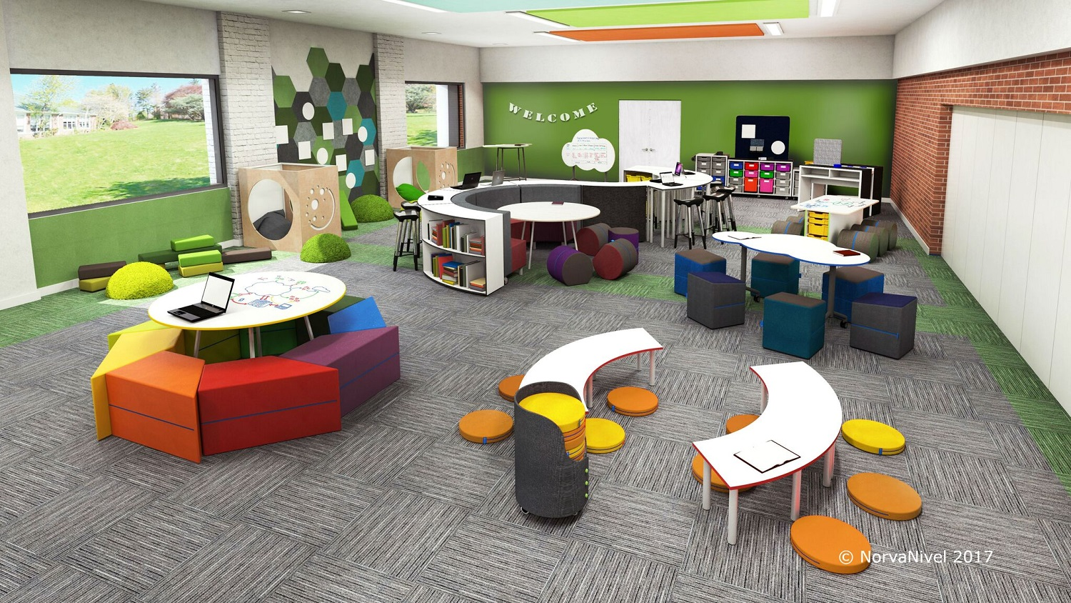 Active Learning Media Room