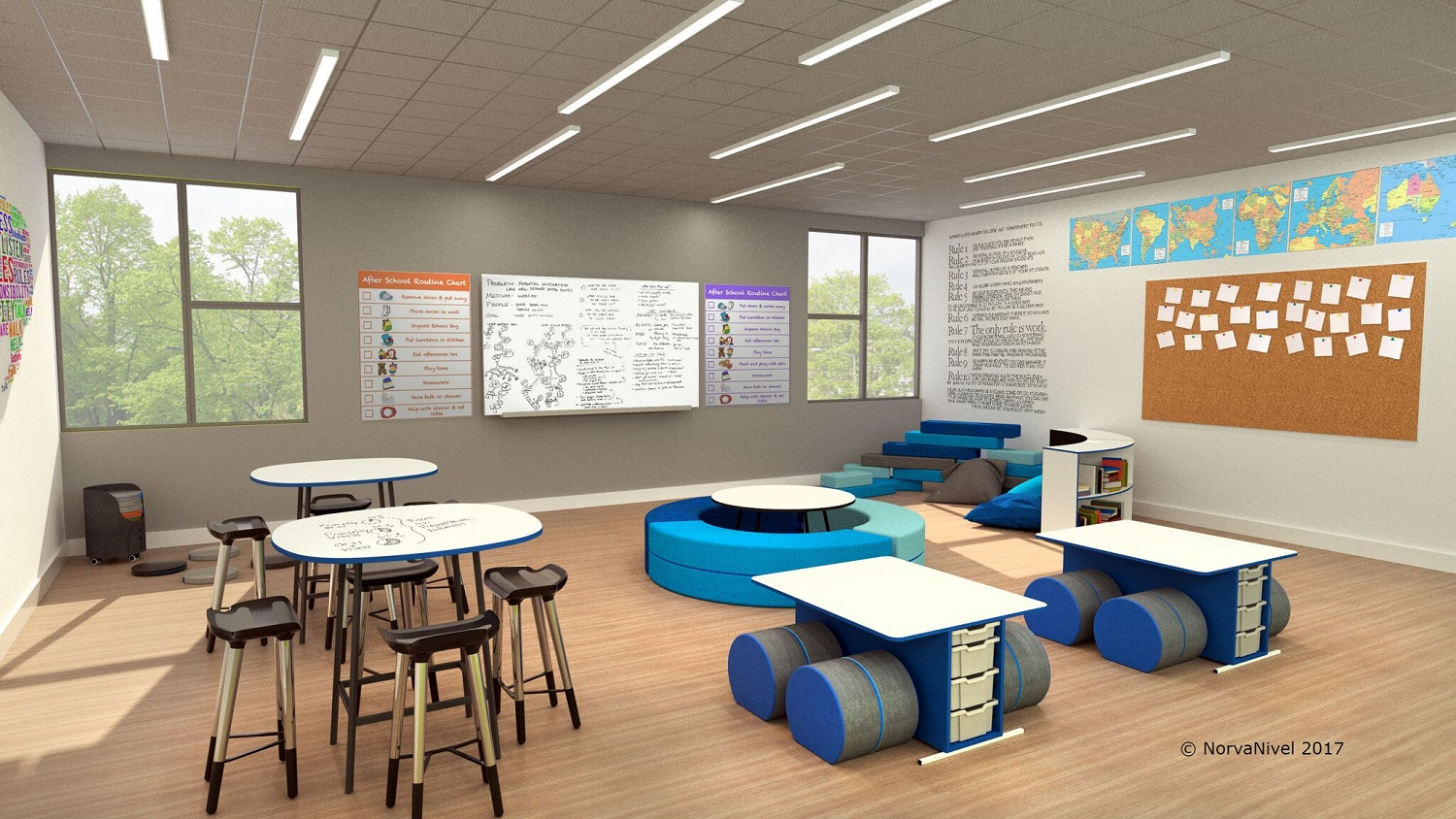STEAM Space Elementary Classroom