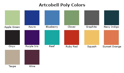 Artcobell Poly Color Swatches
