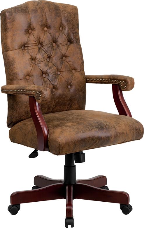 Er Brown Clic Executive Office Chair