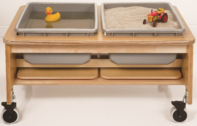 Surprising 2 Tub Sand And Water Sensory Table Ch4049 Download Free Architecture Designs Scobabritishbridgeorg