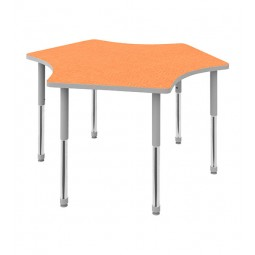 3-Position Shape Activity Table by Artcobell DTT-3P3060E