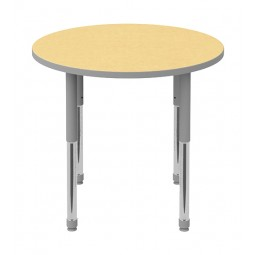 Round Discover Shape Tables by Artcobell
