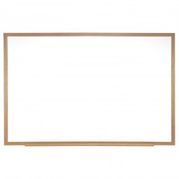 M1 Wood Frame Porcelain Magnetic Whiteboards by Ghent