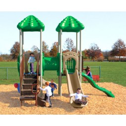 UPlayToday UPLAY-003-P Signal Springs Play Structure for Ages 2-5 or 5-12