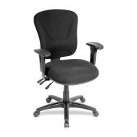 Lorell Accord Series Midback Task Chair - Various Colors