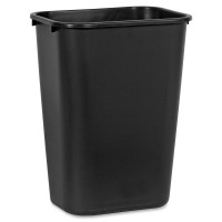 Rubbermaid Standard Deskside Wastebasket 10 Gallon Capacity