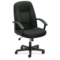 Black Fabric - basyx by HON VL601 Mid-Back Chair