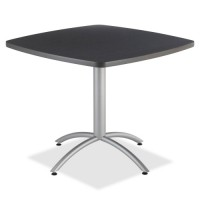 """Iceberg CafeWorks Cafe Table, 36"""" Square, 36"""" x 30"""" - Various Colors"""