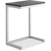 """Black - basyx by HON 24""""W X 15""""D Cantilever Table"""