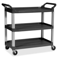 Rubbermaid Mobile Utility Cart, 300 lb. Capacity - Various Colors