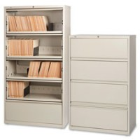 Lorell Lateral Files, RCD, 4 Drawer - Multiple options