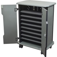 MooreCo 27689 Economy Charging Cart - 16 Compartment
