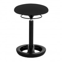 Black Twixt® Active Seating Chair - Desk-Height - Safco Products 3000BL