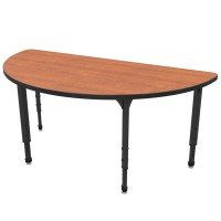 """60"""" Half-Round Apex Table by Marco Group - 38-2278"""