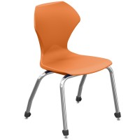 Apex™ Stacking Chairs with Chrome Frame by Marco Group