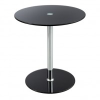 Glass Accent Table - Black - Safco Products - 5095BL