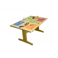 Butcherblock Top Art/Cutting Tables - 2 Sizes - Allied AT Series
