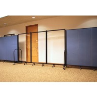 Screenflex Clear Room Dividers