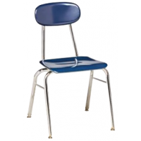 """Columbia Manufacturing 17.5"""" Seat Height Super Stacker - Blue"""