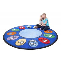 Small Round Expressions Rug CPR436