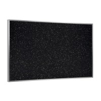 Aluminum Frame Recycled Rubber Tackboards in Three Colors by Ghent