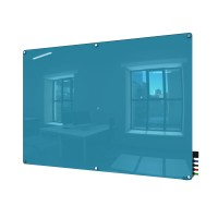 Harmony Colored Glass Boards - Radius Corners - 5 Sizes in 8 Colors by Ghent