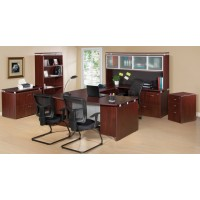 Ascent Office Suite Ensemble in Mahogany - Choose Components