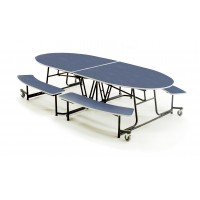 "Empire Mobile Bench Table 10'1"" x 46"" by AmTab MBE10"