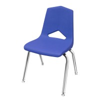 MG1101 V-Back Stack Chairs with Chrome Frame by Marco Group