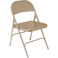 NPS 50 Series Standard All Steel Folding Chairs - Four Colors - Must Order in Multiples of 4