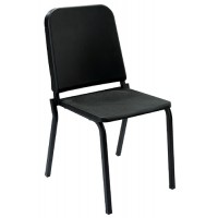 NPS Melody Music Stack Chair - Black - 8210 - Must Order in Multiples of 4
