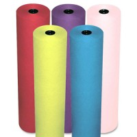 "Rainbow Economy Duo-Finish Kraft Paper 36"" x 1000 ft - Multiple Colors Available"