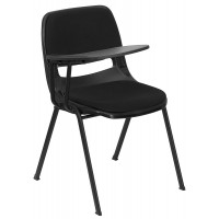 Signature Series Ergonomic Shell Stack Chair - Optional Tablet Arm