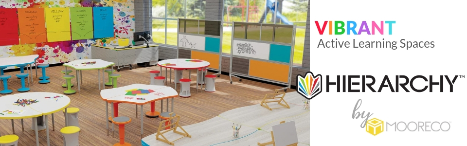 Hierachy Active Classrooms by MooreCo