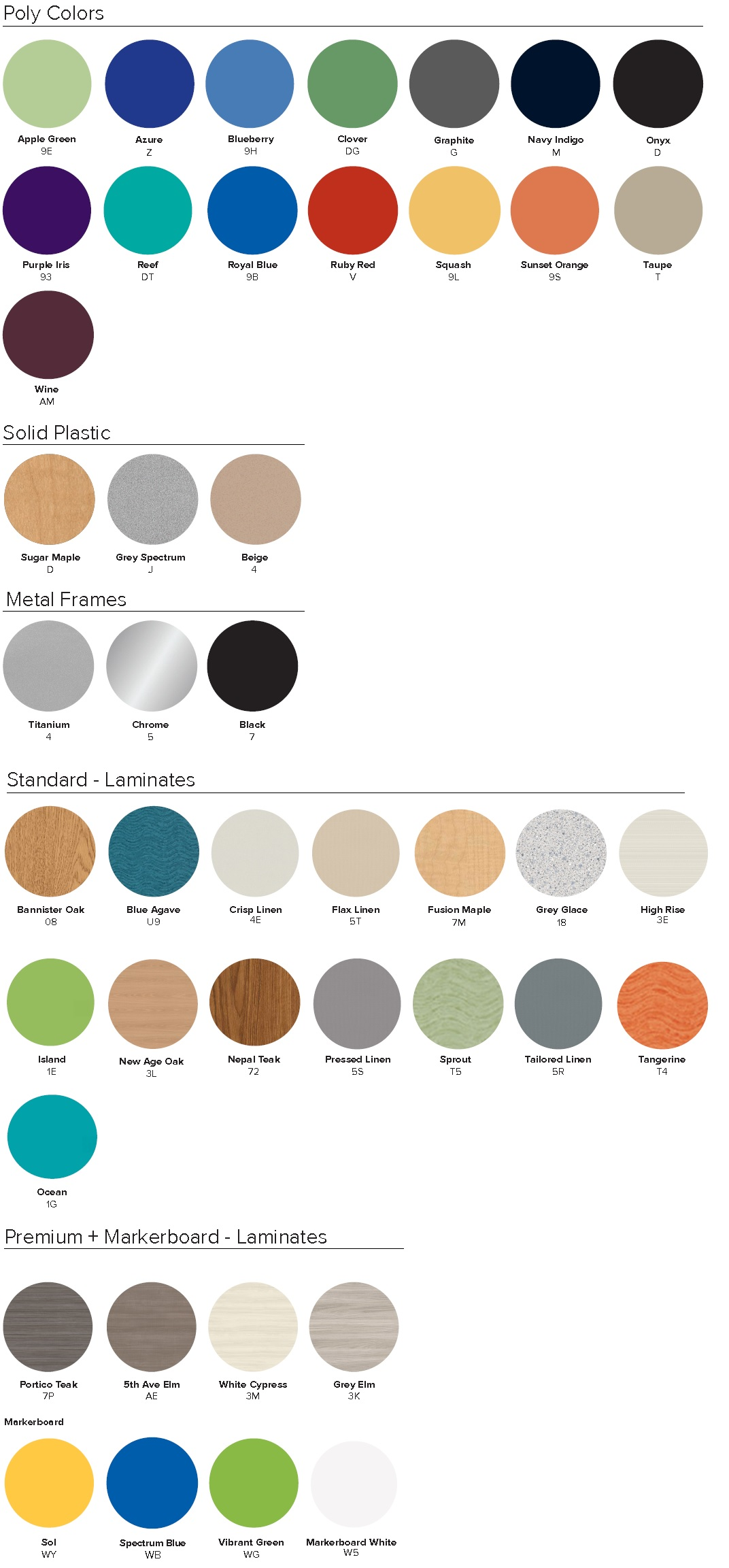 All Artcobell Swatches