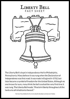 Liberty Bell Fact Sheet